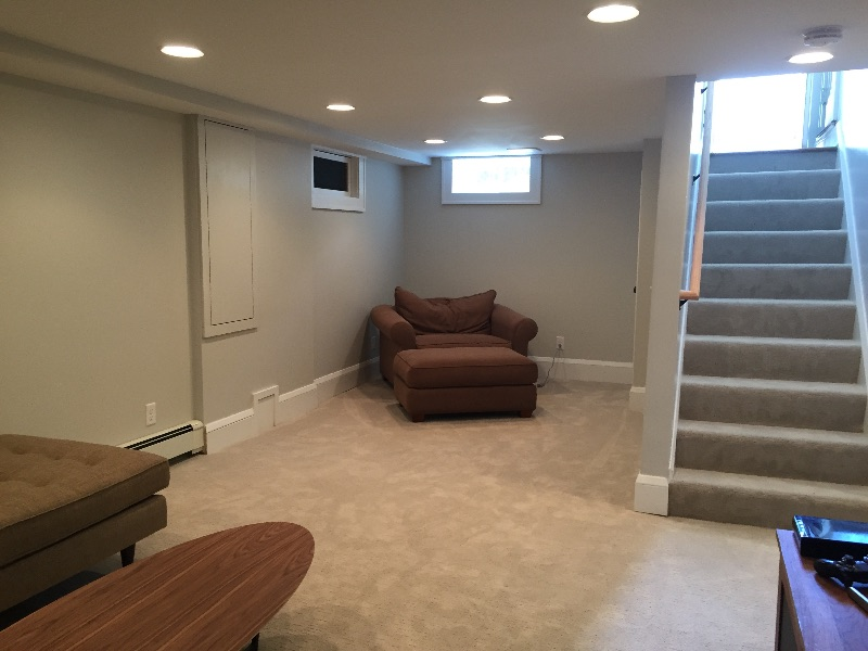Basement Ceiling Height Focused Remodeling